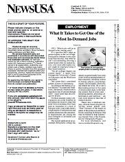 In Demand Jobs